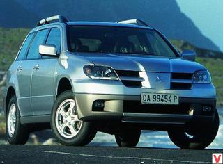 Mitsubishi Outlander 2003 год