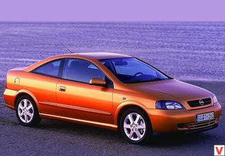 Opel Astra Coupe 2000 год