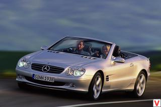 Mercedes-Benz SL Roadster 2003 год