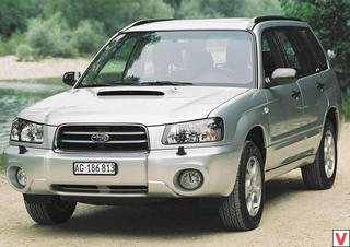 Subaru Forester 2002 год
