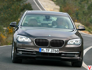 BMW 7-Series 2013 год