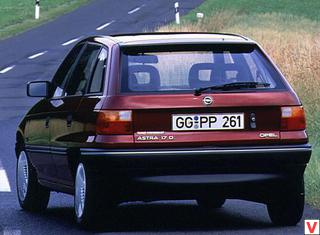 Opel Astra 1991 год