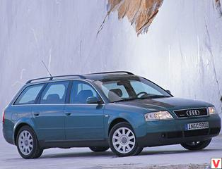 Audi A6 1998 год