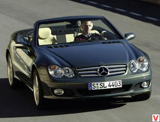 Mercedes-Benz SL Roadster 2006 год