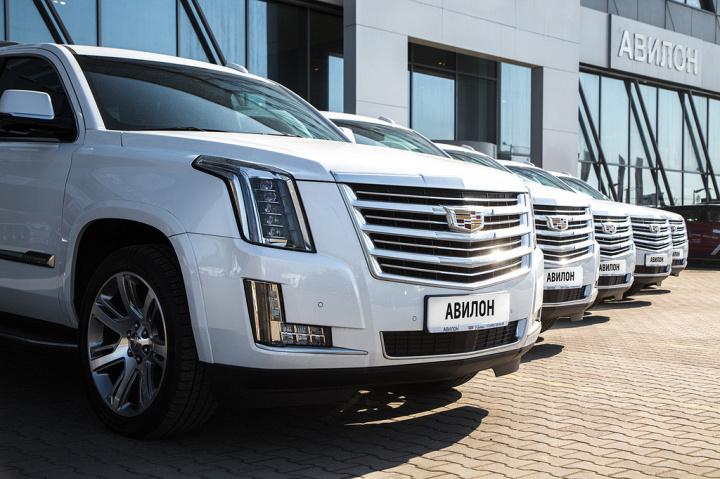 АВИЛОН показал выдающиеся результаты продаж Cadillac