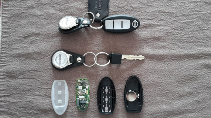 Intelligent key nissan